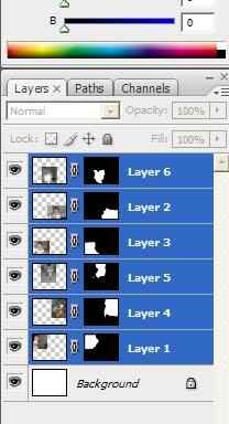 ... Sekarang kalau sudah diblog semua, buka menu Edit>>Auto-Blend Layer