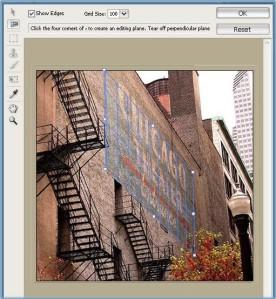 Fitur-fitur Baru Dalam Adobe Photoshop Creative Suite 2-Vanishing Point